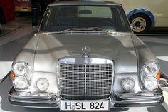 32. 1968 Mercedes-Benz 300SEL 6.3: The sedan uses a 6.3-liter V8 engines that ga