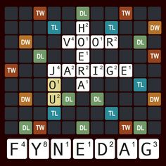Fijne Verjaardag Birthday Wishes And Images, Happy Birthday Quotes, Happy Birthday Wishes, Happy B Day, Congratulations Card, Scrabble, Letters, Creative, Handwriting