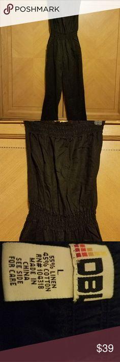 DBL TOPLESS JUMPSUIT Beautiful black jumpsuit NWOT DBL Pants Jumpsuits & Rompers