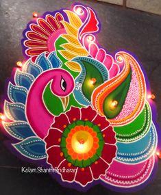 Rangoli Designs Latest, Simple Rangoli Designs Images, Rangoli Designs Flower, Rangoli Patterns, Colorful Rangoli Designs, Rangoli Designs Diwali, Kolam Rangoli, Beautiful Rangoli Designs, Rangoli Ideas