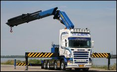 SCANIA = TRUCK Tow Truck, Big Trucks, Swedish Brands, Tamiya, Rigs, Crane, Models, Vehicles, Board