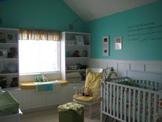 Sherwin Williams Tantalizing Teal--Just got this color for my laundry room hall way! Woot!