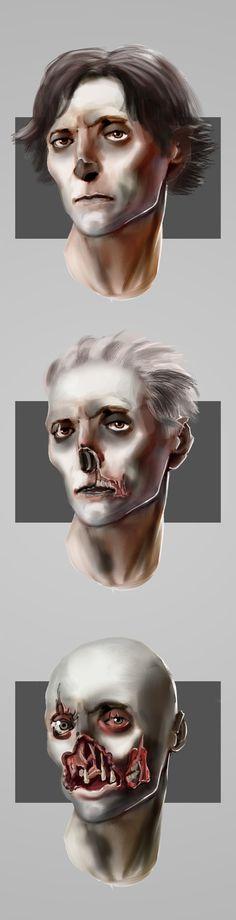 Plague symptoms for uni project - 2/10/21 Video Game Artist, Halloween Face Makeup, Concept, Uni, Design