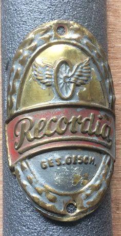 Retro Bike, Design Reference, Vintage Ads, Badges, Tube, Bicycle, Sheet Metal, Veils, Bicycles