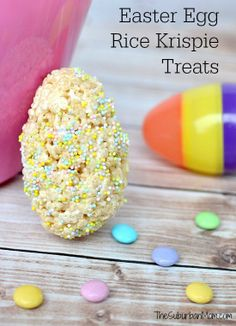 Easter Egg Rice Krispie Treats Recipe | TheSuburbanMom #Easter #easytomake