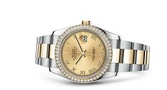 £11,450 - Rolex Datejust 36 Watch: Yellow Rolesor - combination of 904L steel and 18 ct…