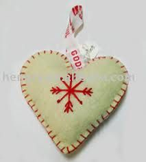 handmade christmas ornaments - Google Search