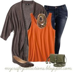 Plus Size Fall Outfits Polyvore | Fall Outfit, I already have the purse, just need a scarf to tie it all ...