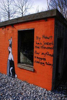 Watership Down – Richard Adams. Virginia, US.   28 Brilliant Works Of Literary Graffiti