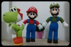 Minha versão do Mário, Luigi e Yoshi