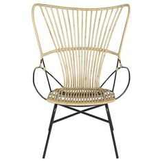 Stoel Senne naturel Outdoor Chairs, Outdoor Furniture, Outdoor Decor, Wicker, Accent Chairs, Retro, Home Decor, Google, Upholstered Chairs