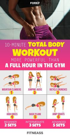 10-Minute Workout That Replaces One Hour In The Gym