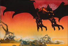 Roger Dean - Black Bat