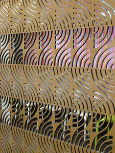 CUTOUT corporate design laser cutting laser cut panels shop front ...