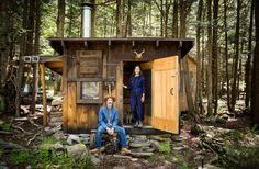 cabin in Milanville, Pennsylvania.