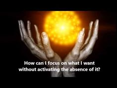 Abraham Hicks ~ How can I focus on what I want without activating the absence of it? - YouTube