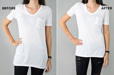 I Tailored My T-Shirts Like Jennifer Aniston af933b49a7