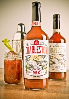 Charleston Bloody Mary Mix  ~ Winner of Garden and Gun 'Made in the South' Award  ~