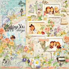 Graphic45-Maiko Miwa-Secret Garden-Layout