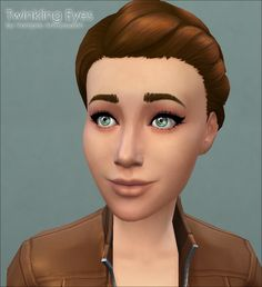 Mod The Sims - Twinkling Eyes -default replacement-