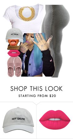 """""""✨✨"""" by newtrillvibes ❤ liked on Polyvore featuring Lime Crime and A.V. Max"""