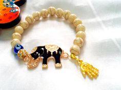 SALE GYPSY'S ELEPHANT Bracelet Spring Jewelry Bohemian by Nezihe1