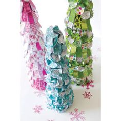 A fun and easy way to decorate - these can be used in any place around your house to accent to color and feel of the Christmas season.