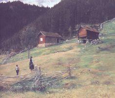 Christian Skredsvig  (1854-1924): Vinje en Telemark (1887)