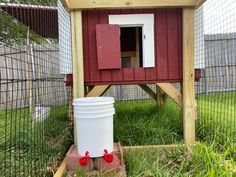 Trictle's Chicken Coop With Plans | BackYard Chickens - Learn How to Raise Chickens Chicken Coop Plans Free, Small Chicken Coops, Backyard Chickens, Raising Chickens, Easy Diy, Bird, How To Plan, Chicken Coups, Outdoor Decor