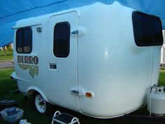 1963 Burro, 13 feet from the front of the hitch to the back bumper, feet of living space! It is a great Vintage camper Pickup Camper, Rv Campers, Happy Campers, Boler Trailer, Rv Travel Trailers, Vintage Campers, Vintage Trailers, Fiberglass Camper, Gypsy Soul