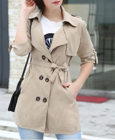 GET $50 NOW | Join RoseGal: Get YOUR $50 NOW!http://www.rosegal.com/coats/stylish-turn-down-collar-long-408659.html?seid=7849858rg408659