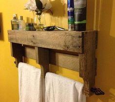 Baños decorados económicos reciclando Palets: 30 Ideas para baños con palets – Ecología Hoy