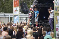 Beach Partyssa 2013 juhli noin 2700 nuorta.