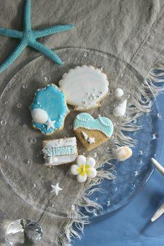 夏のアイシングクッキー |横田沙織オフィシャルブログ「Saori's sugar life」Powered by Ameba
