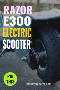 Razor E300 Electric Scooter Review Razor Electric Scooter, Electric Cars, Best Longboard, Pro Scooters, Kick Scooter, Public Transport, Monster Trucks, Longboarding, Skateboarding