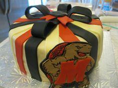 Maryland Terp Cake