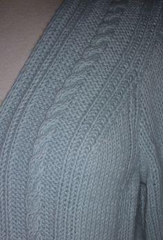 secretos de la lana jersey azul sisa