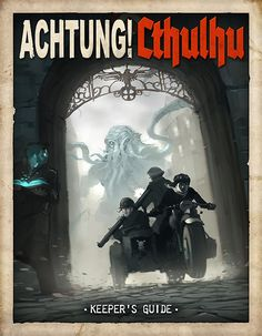 Acthung!Cthulhu goes Kickstarter! by *DimMartin on deviantART