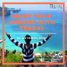 Enjoy Your Journey With #Traaal (^_^) We are Coming Soon \m/  #FollowUs & #StayTuned for updates. #travel #middleeast #europe #travellers #tourists #nature #startups #adventures #business #vacation #onlinetravelagency #photography #travelling #solo #joy #memories #moments #ota #branding #promotion #ilovetravelling #subscribe #travelwithus #joinus #comingsoon