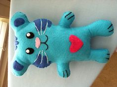 "A ""Tigey"" doll I made for my niece for her birthday. She loves Daniel Tigers' Neighborhood!"