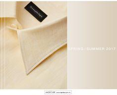 En colores regidos por la temporada, como el amarillo claro y tonos pastel, esta prenda de lino es ideal para sobresalir. #ZZegna