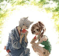 Kamisama Kiss_Tomoe & Nanami....Spring Days