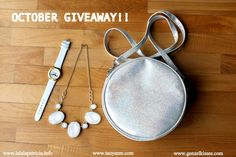 October International (H&M Sling Bag, Mustache Watch & Sparkly Necklace) - Jane Fashion Travels Travel Style, Fashion Necklace, October, Giveaways, Fashion Lookbook, Mustache, Kisses, Accessories, Coupons