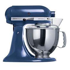 KitchenAid Artisan Mixer KSM150 Blue Willow - Free Cookbook & Shipping