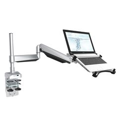 Loctek D7P Swivel Desk Laptop Mount LCD Height Adjustable Arm Stand for 10.1-inch to -17.3-inch Notebooks