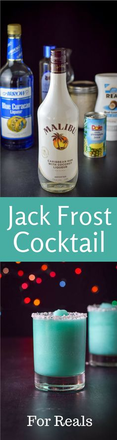 Year Round Jack Frost Cocktail