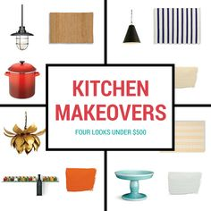 The cost of an average minor kitchen renovation is almost $20,000. Here are four looks designed with your culinary preferences in mind to spruce up your kitchen—no bank loan required.