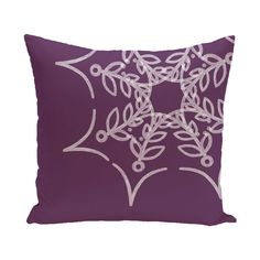 Web Art Holiday Print Outdoor Throw Pillow