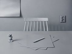 Monochrome still life in grey #emelieotterbeck