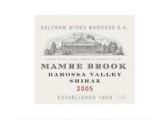 Saltram Wines Barossa Mamre Brook Shiraz 2005 (illustrated by Steven Noble)